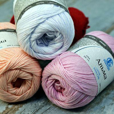 Заказать пряжу Альма (Камтекс) для вязания — пряжа Малик
