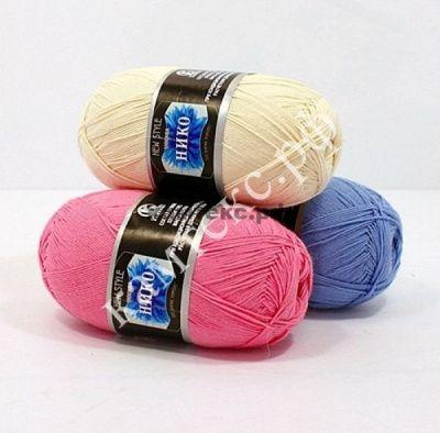 Заказать пряжу Нико (Камтекс) для вязания — пряжа Малик