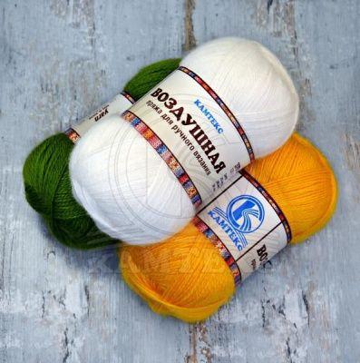 Заказать пряжу Воздушная (Камтекс) для вязания — пряжа Малик