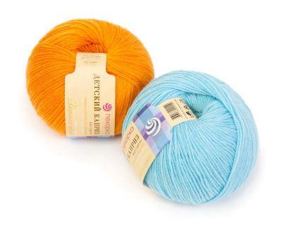Заказать пряжу Детский каприз (Пехорка) для вязания — пряжа Малик