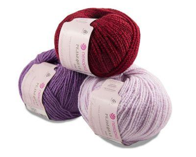 Заказать пряжу Рельефная (Пехорка) для вязания — пряжа Малик
