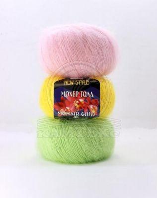 Заказать пряжу Мохер Голд (Камтекс) для вязания — пряжа Малик
