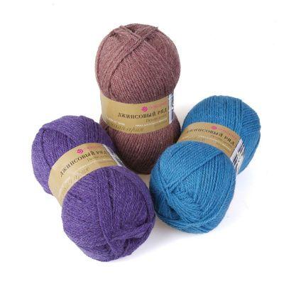 Заказать пряжу Джинсовый ряд объемный (Пехорка) для вязания — пряжа Малик
